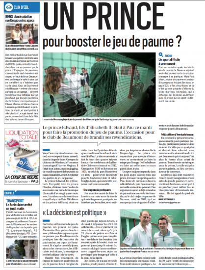 Article la republique venue du prince edward